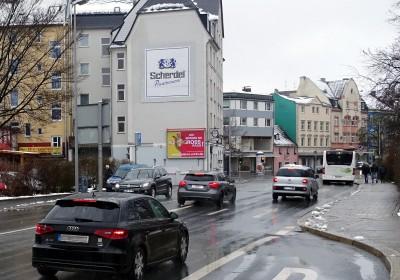 Plakatwerbung begleitet Sie in Hof (Saale)