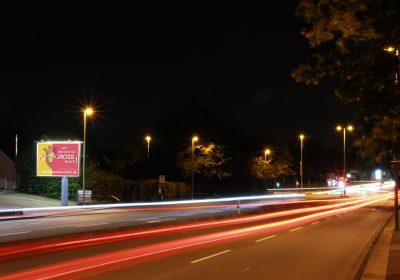 """City-Star-Board in Hagen - Autobahnzubringer """"Feithstraße"""""""