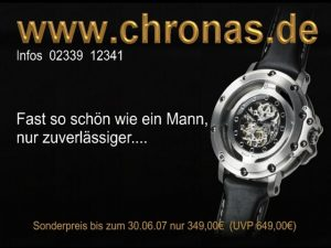 Chronas Motiv - Zuverlaessiger