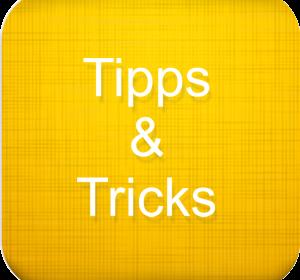Tipps und Tricks2
