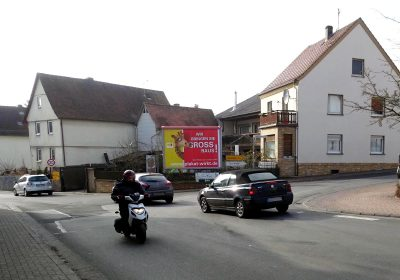 Plakat wirkt in Hüttenberg
