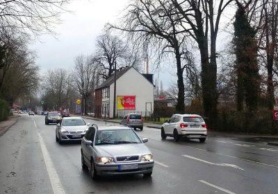 Plakatwerbung in Datteln, wo das Münsterland aufs Ruhrgebiet trifft