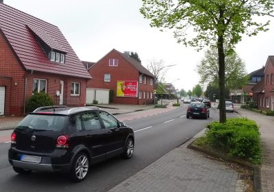 Außenwerbung in Lingen (Ems)
