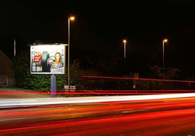 Abends in der Volmestadt Hagen - Plakat wirkt
