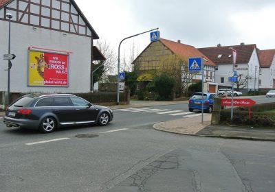 Plakat wirkt in Willingshausen