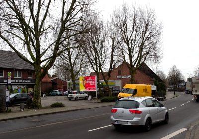 Plakatwerbung in Hoerstel-Dreierwalde