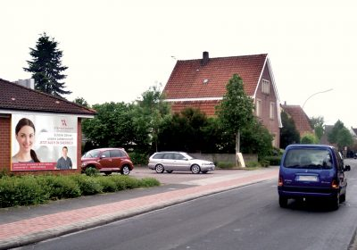 Plakative Zahnarztpraxis in Saerbeck
