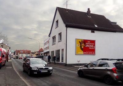 Wir bringen Sie in Hösbach GROSS raus – Plakat wirkt!