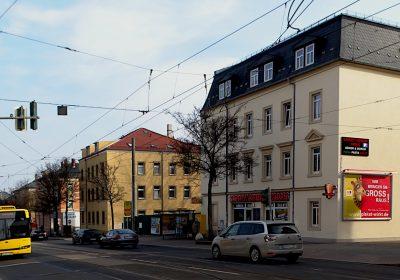Wir bringen Sie in Dresden GROSS raus - Plakat wirkt!