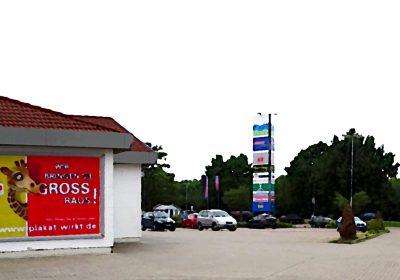 Wir bringen Sie in Boizenburg GROSS raus - Plakat wirkt!