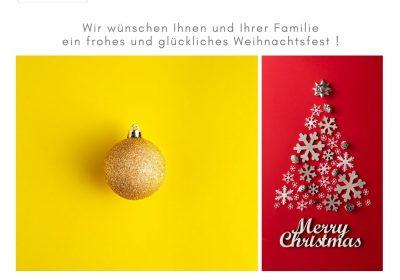 Kaltenbach Aussenwerbung wünscht frohe Weihnachten