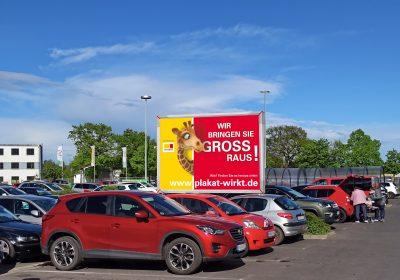 Wir bringen Sie in Nordhausen GROSS raus - Plakat wirkt!