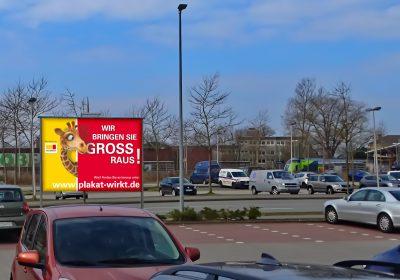 Wir bringen Sie in Rendsburg GROSS raus - Plakat wirkt!