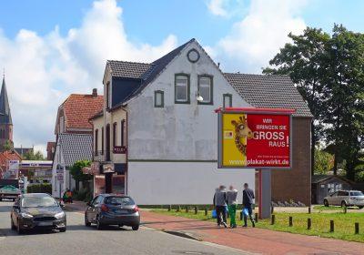 Wir bringen Sie in Papenburg GROSS raus - Plakat wirkt!