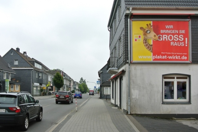 Aussenwerbung in Burscheid
